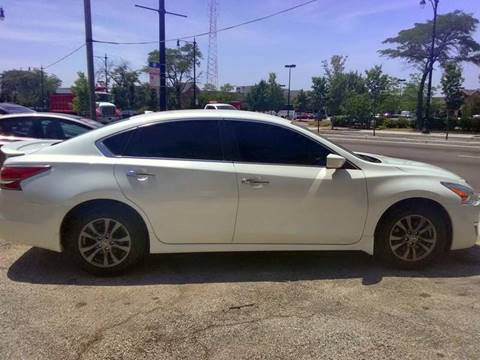 2015 Nissan Altima for sale at ECONOMY AUTO MART in Chicago IL