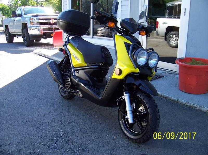2009 Yamaha ZUMA
