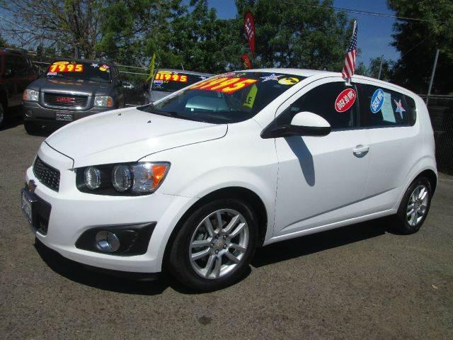 2012 Chevrolet Sonic Lt 4dr Hatchback W2lt In Fresno Ca Hacienda