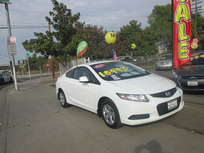 2013 Honda Civic LX 2dr Coupe 5A - Fresno CA & 2013 Honda Civic LX 2dr Coupe 5A In Fresno CA - Hacienda Motors