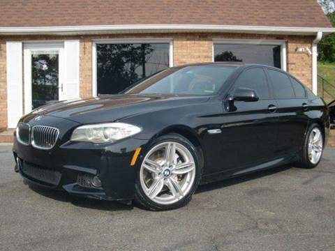 2013 BMW 5 Series for sale at Auto World Of Winston - Salem in Winston Salem NC