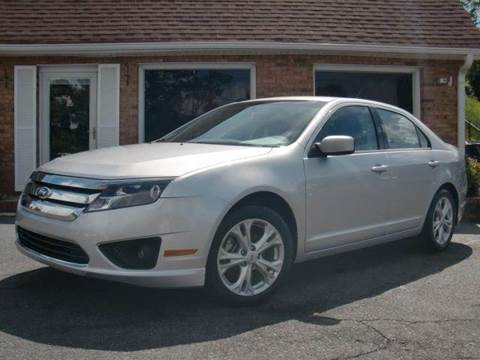 2012 Ford Fusion for sale at Auto World Of Winston - Salem in Winston Salem NC