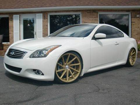 2011 Infiniti G37 Coupe for sale at Auto World Of Winston - Salem in Winston Salem NC