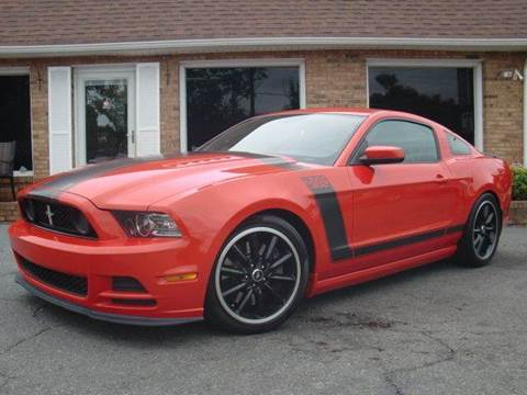 2013 Ford Mustang for sale at Auto World Of Winston - Salem in Winston Salem NC