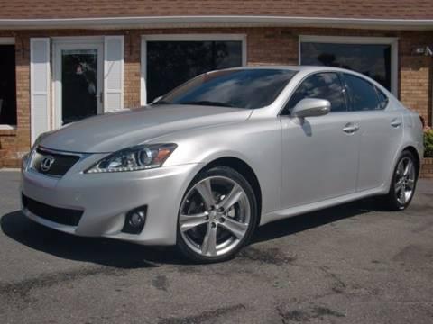 2012 Lexus IS 250 for sale at Auto World Of Winston - Salem in Winston Salem NC
