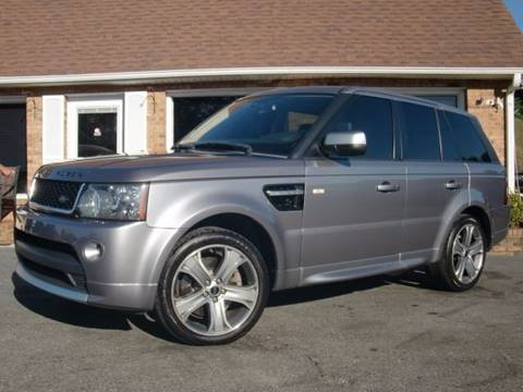 2012 Land Rover Range Rover Sport for sale at Auto World Of Winston - Salem in Winston Salem NC