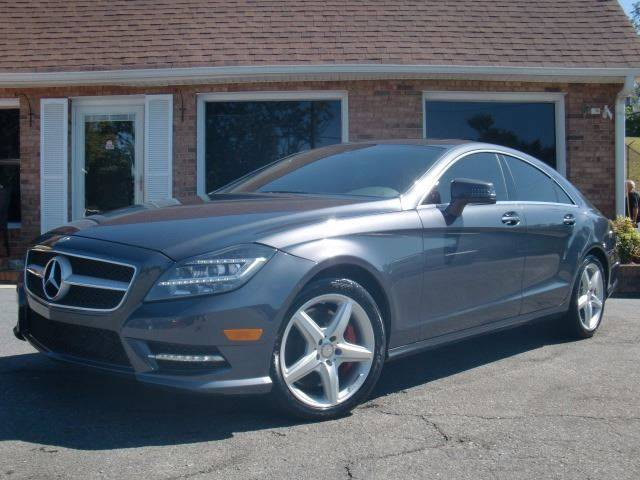 2014 mercedes benz cls cls 550 4matic in winston salem nc for Mercedes benz of winston salem
