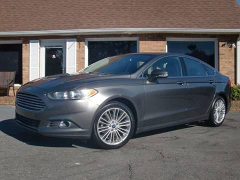 2015 Ford Fusion for sale at Auto World Of Winston - Salem in Winston Salem NC