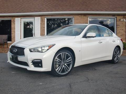 2014 Infiniti Q50 for sale at Auto World Of Winston - Salem in Winston Salem NC