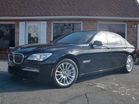 2014 BMW 7 Series for sale at Auto World Of Winston - Salem in Winston Salem NC