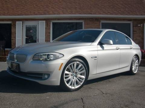 2012 BMW 5 Series for sale at Auto World Of Winston - Salem in Winston Salem NC
