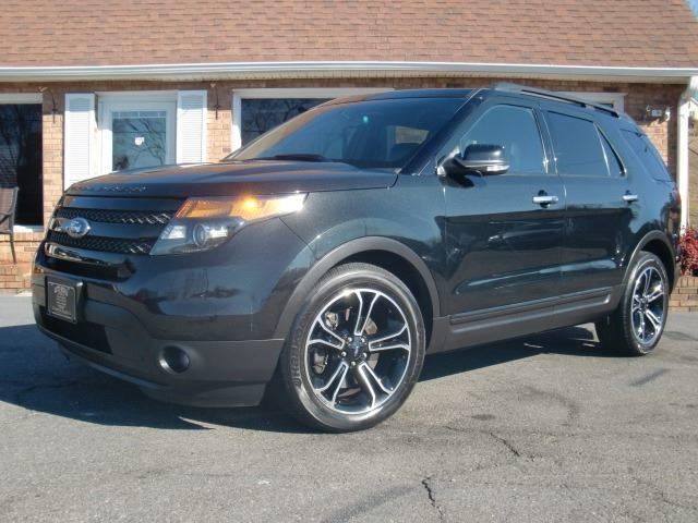 2014 Ford Explorer Sport In Winston Salem NC - Auto World Of Winston ...