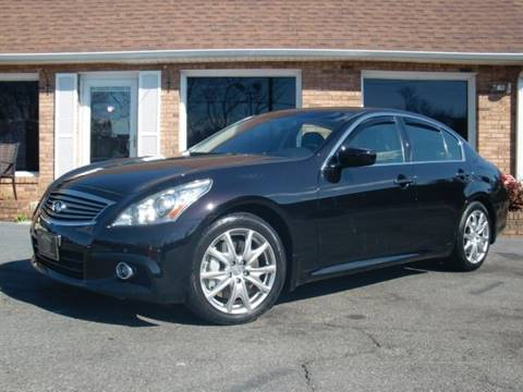 2012 Infiniti G37 Sedan for sale at Auto World Of Winston - Salem in Winston Salem NC