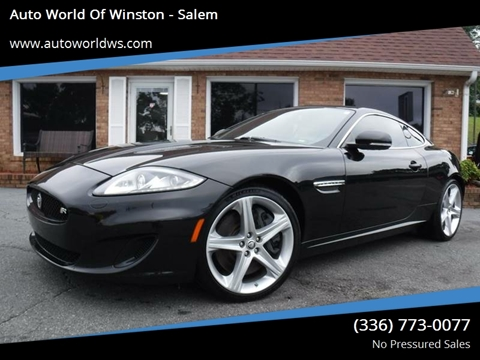 2013 Jaguar XK for sale at Auto World Of Winston - Salem in Winston Salem NC