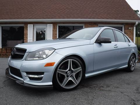 2013 Mercedes-Benz C-Class for sale at Auto World Of Winston - Salem in Winston Salem NC
