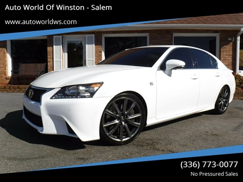 2015 Lexus GS 350 for sale at Auto World Of Winston - Salem in Winston Salem NC