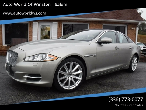 2012 Jaguar XJ for sale at Auto World Of Winston - Salem in Winston Salem NC