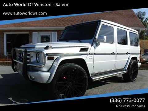 2011 Mercedes-Benz G-Class for sale at Auto World Of Winston - Salem in Winston Salem NC