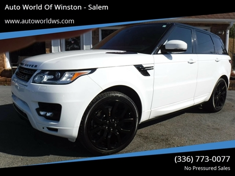 2014 Land Rover Range Rover Sport for sale at Auto World Of Winston - Salem in Winston Salem NC