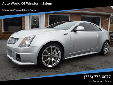 2013 Cadillac CTS-V for sale at Auto World Of Winston - Salem in Winston Salem NC