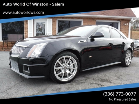 2012 Cadillac CTS-V for sale at Auto World Of Winston - Salem in Winston Salem NC