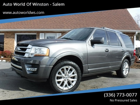 2015 Ford Expedition for sale at Auto World Of Winston - Salem in Winston Salem NC