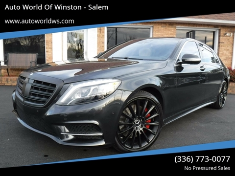 2014 Mercedes-Benz S-Class for sale at Auto World Of Winston - Salem in Winston Salem NC