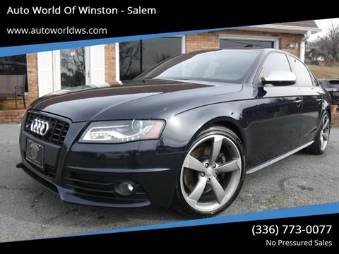 2011 Audi S4 for sale at Auto World Of Winston - Salem in Winston Salem NC
