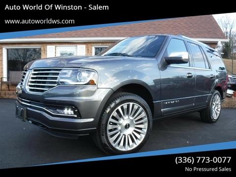2015 Lincoln Navigator for sale at Auto World Of Winston - Salem in Winston Salem NC