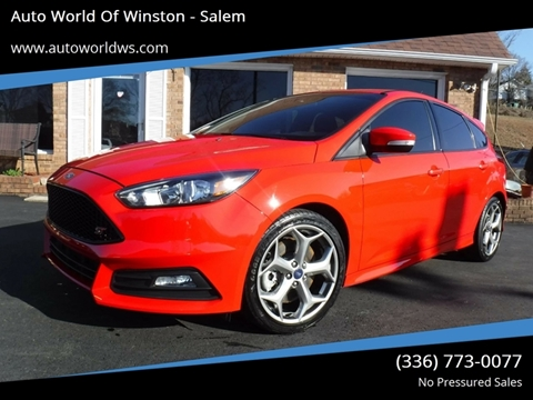 2017 Ford Focus for sale at Auto World Of Winston - Salem in Winston Salem NC