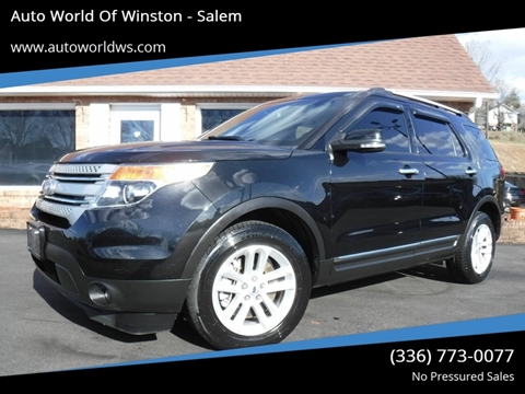 2015 Ford Explorer for sale in Winston Salem, NC
