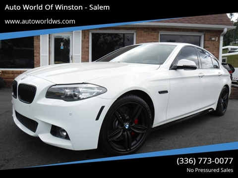 2014 BMW 5 Series for sale at Auto World Of Winston - Salem in Winston Salem NC