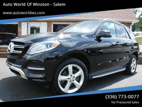 2016 Mercedes-Benz GLE for sale at Auto World Of Winston - Salem in Winston Salem NC