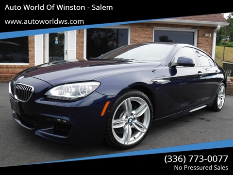 2014 BMW 6 Series for sale at Auto World Of Winston - Salem in Winston Salem NC