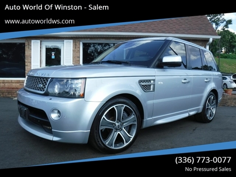 2011 Land Rover Range Rover Sport for sale at Auto World Of Winston - Salem in Winston Salem NC