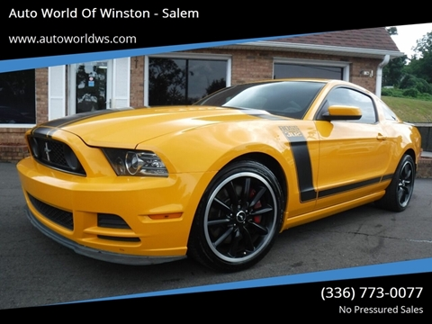 2013 Ford Mustang for sale in Winston Salem, NC