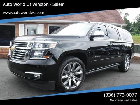2015 Chevrolet Suburban for sale at Auto World Of Winston - Salem in Winston Salem NC