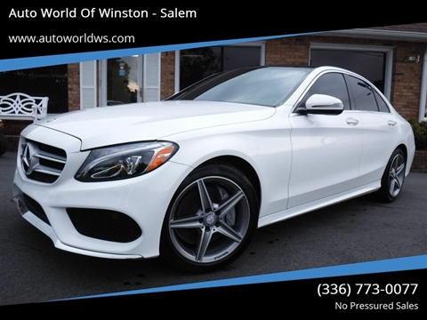2016 Mercedes-Benz C-Class for sale in Winston Salem, NC