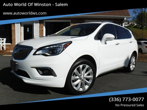 2017 Buick Envision for sale at Auto World Of Winston - Salem in Winston Salem NC