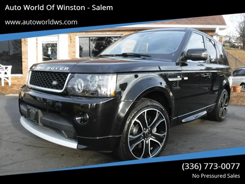 2013 Land Rover Range Rover Sport for sale at Auto World Of Winston - Salem in Winston Salem NC
