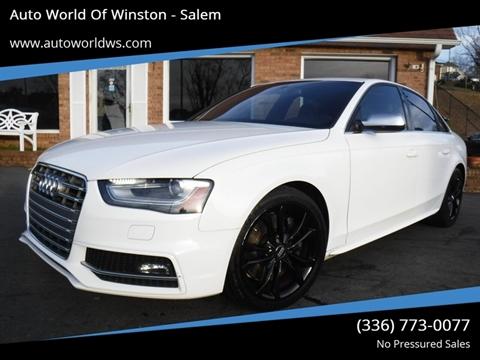 2013 Audi S4 for sale at Auto World Of Winston - Salem in Winston Salem NC