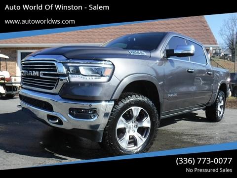 2019 RAM Ram Pickup 1500 for sale at Auto World Of Winston - Salem in Winston Salem NC
