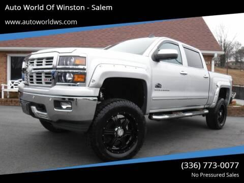 2015 Chevrolet Silverado 1500 for sale at Auto World Of Winston - Salem in Winston Salem NC