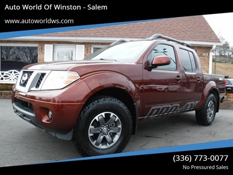 2016 Nissan Frontier for sale at Auto World Of Winston - Salem in Winston Salem NC