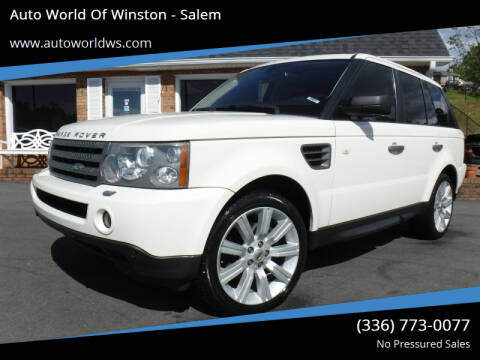 2009 Land Rover Range Rover Sport for sale at Auto World Of Winston - Salem in Winston Salem NC