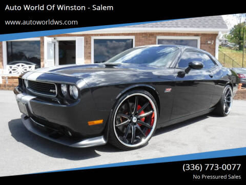 2011 Dodge Challenger for sale at Auto World Of Winston - Salem in Winston Salem NC