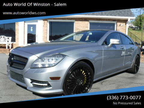 2013 Mercedes-Benz CLS for sale at Auto World Of Winston - Salem in Winston Salem NC