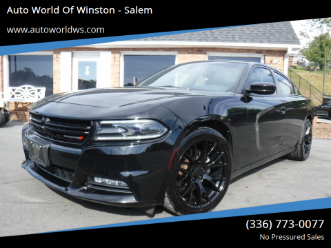 2016 Dodge Charger for sale at Auto World Of Winston - Salem in Winston Salem NC