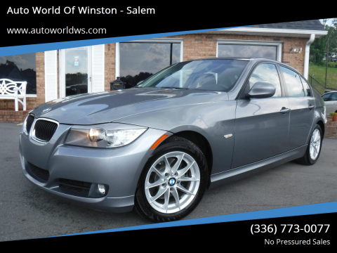 2010 BMW 3 Series for sale at Auto World Of Winston - Salem in Winston Salem NC