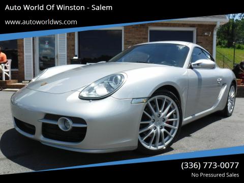 2006 Porsche Cayman for sale at Auto World Of Winston - Salem in Winston Salem NC
